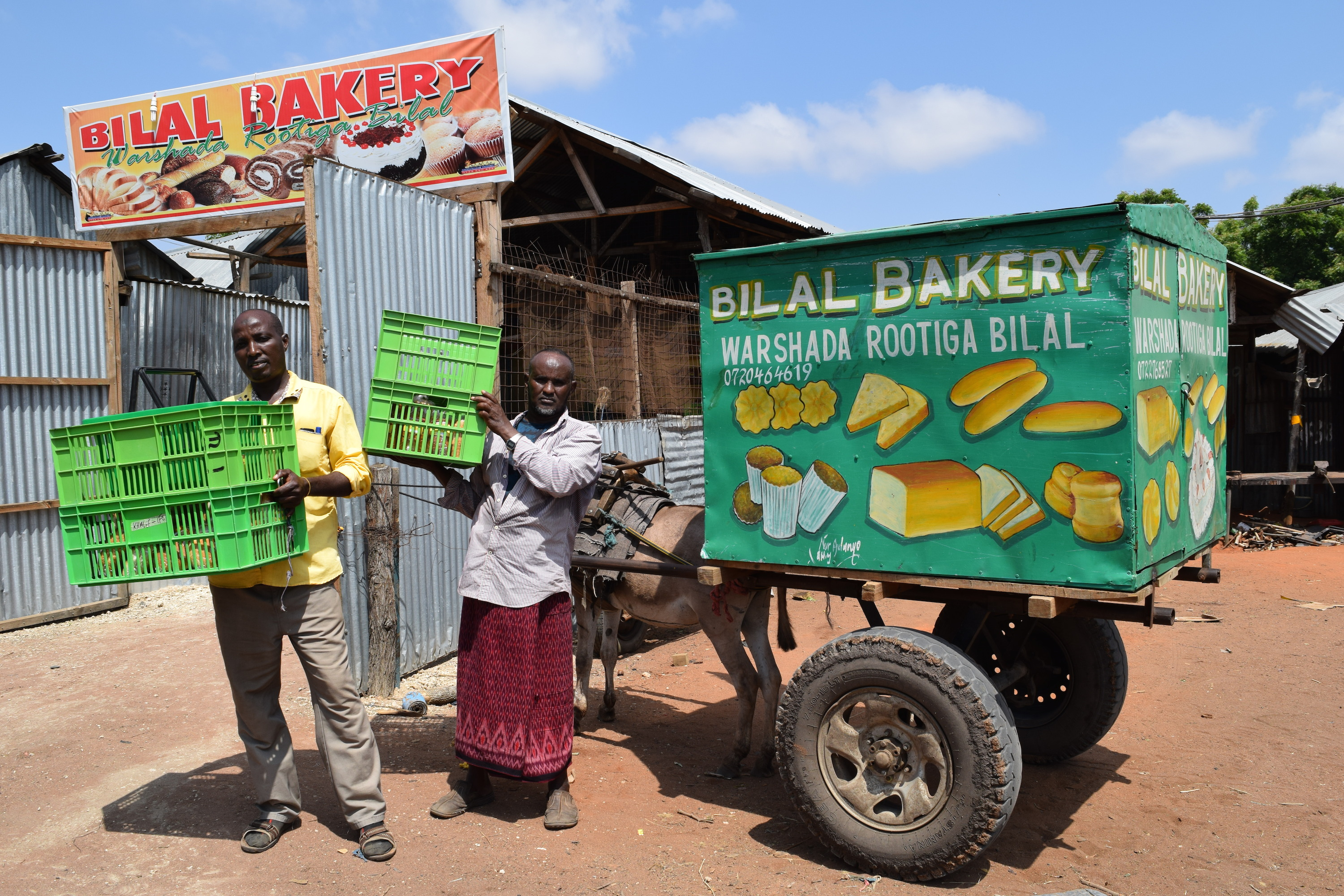 A bakery in Dadaab