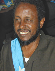 [Somalia] Abdallah Derow Isaak, the newly elected Speaker of Somalia's Transitional National Assembly (TNA).