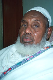 [Ethiopia] The Sultan of Afar, Ali Mireh Hanfareh.