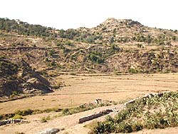 [Eritrea] Eritrean (near side) and Ethiopian (far side) trenches near Senafe