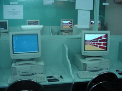[Afghanistan] Afghanistan's only internet cafe stands empty.