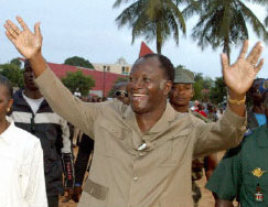 [Cote d'lvoire] Former Prime minister Alassane Ouattara: Will he be able to run for presidential elections in 2004?