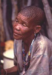 [Botswana] Botswana's Gana and Gwi Bushmen, also known as the Basarwa