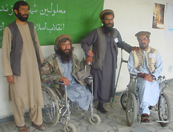 [Afghanistan] Afghanistan has one of the largest disabled populations