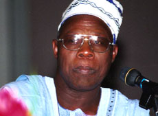 [Nigeria] President Olusegun Obasanjo will face strong competition in next year's polls.
