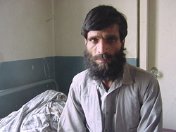 [Afghanistan] Multen Khan, repatriated from Iran six years ago where he became a heroin addict.