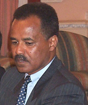 [Eritrea] Eritrean President Isayas Afewerki - accused of being a