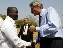 [Cote d'lvoire] French foreign ministry Dominique de Villepin and MPCI secretary-general Guillaume Soro