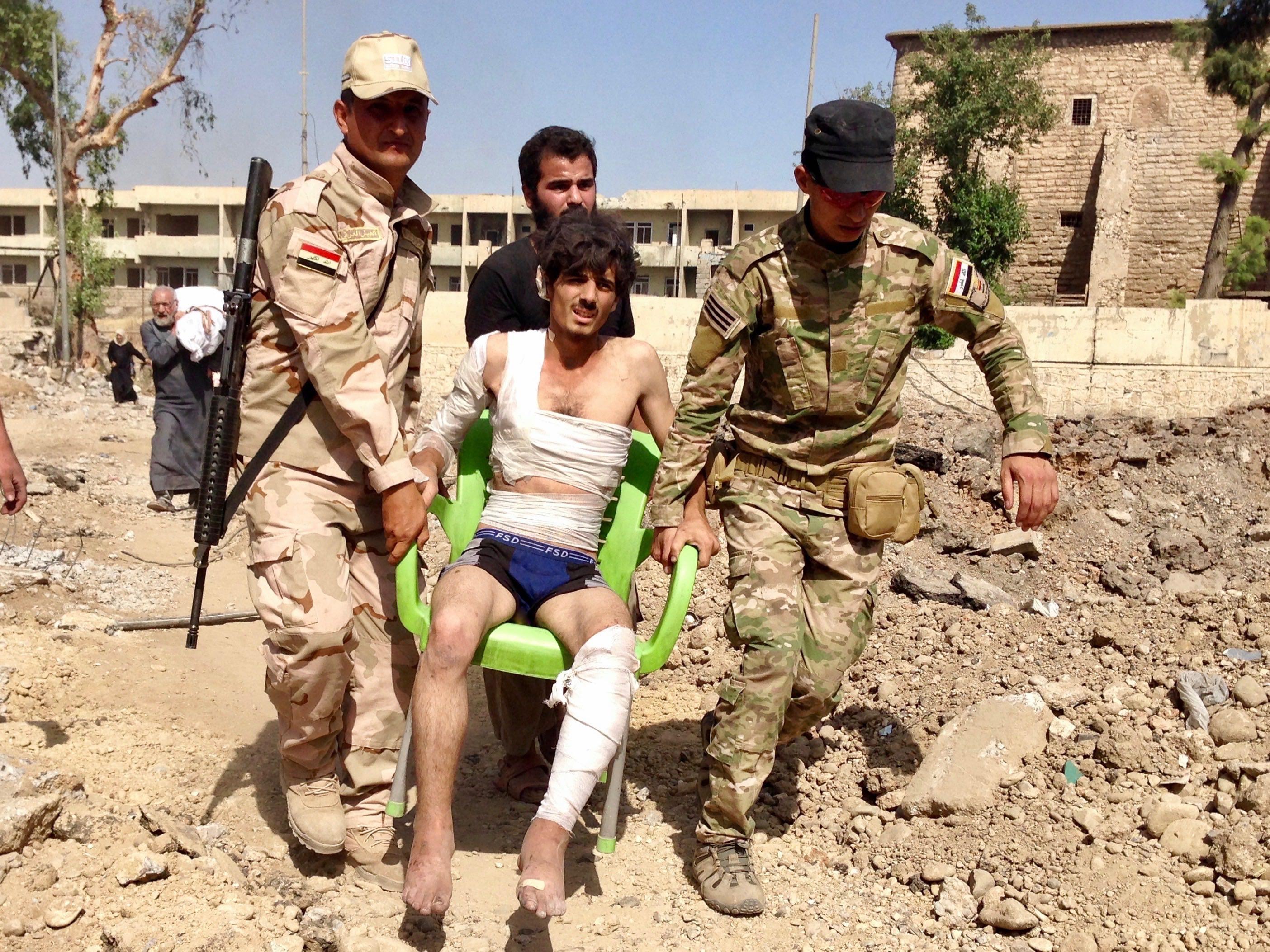 Saddam-era basement bunkers: A 'double-edged sword' for Mosul civilians
