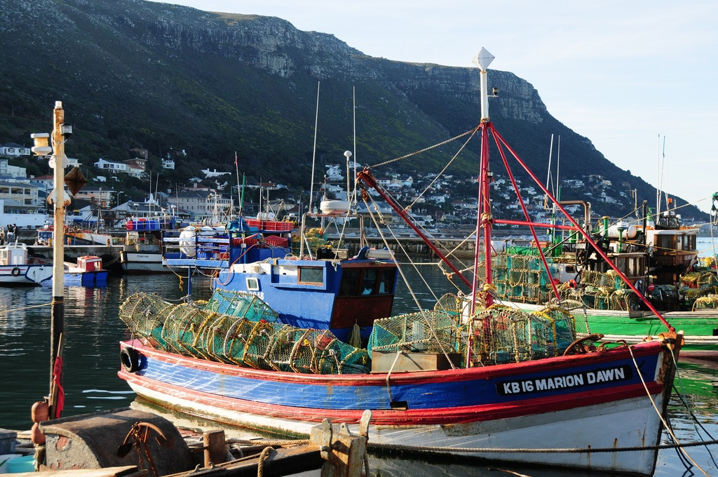 South Africa's Kalk Bay harbour