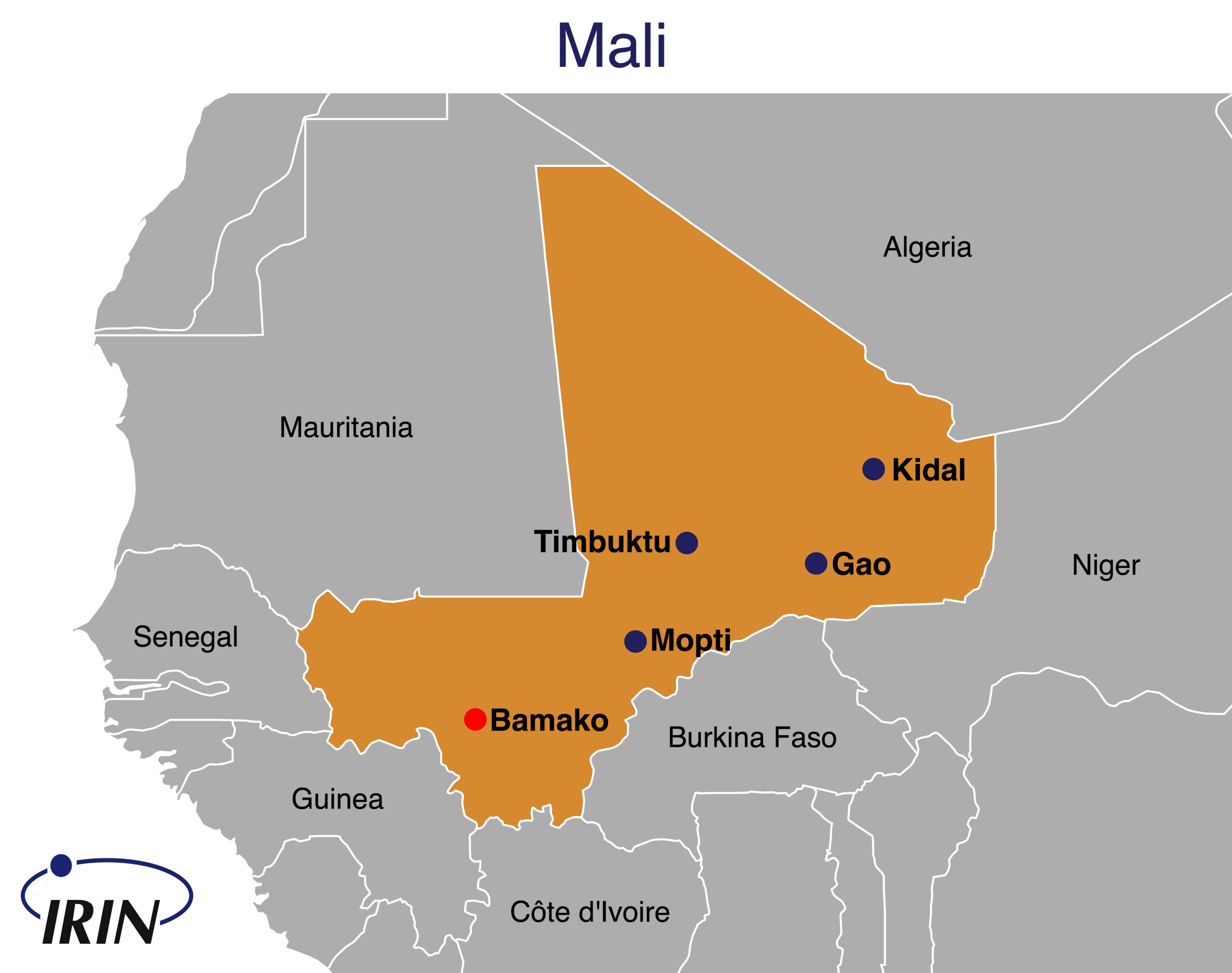 Irin Trouble In The Heart Of Mali