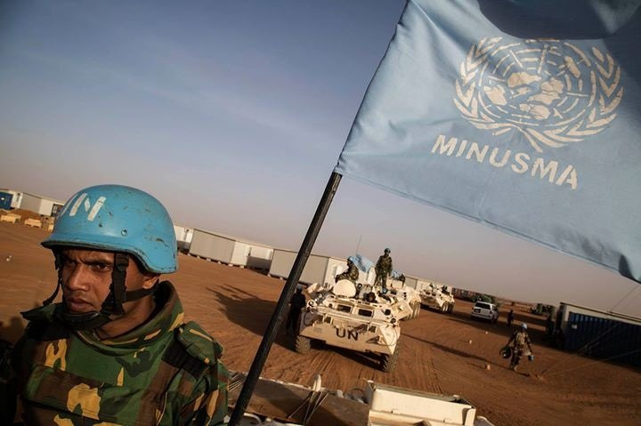 MINUSMA peacekeepers Mali