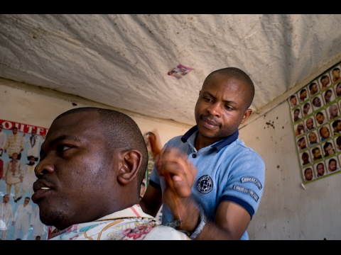 Akram the hairdresser | Congo's ethical minerals