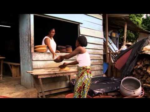 The Food Vendor - Cassava in Cote d'Ivoire