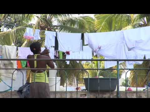 Forced to Flee - Haiti's Homeless Hotel