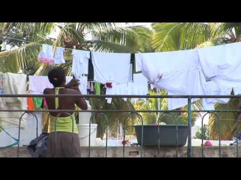 Forced to Flee - Haiti's Homeless Hotel