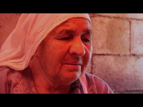 Khadijeh Sayyid Ahmad, Syrian refugee in Lebanon.