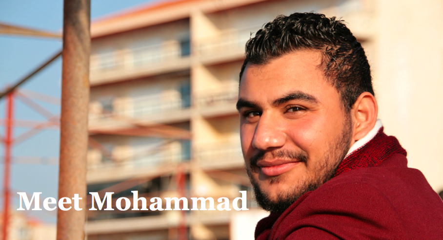 Mohammad smiling