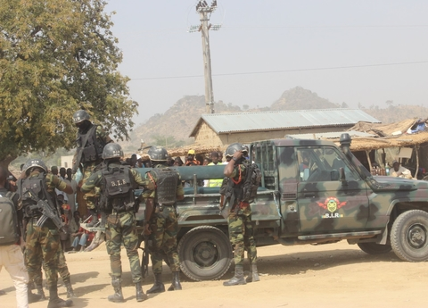 Cameroon security forces