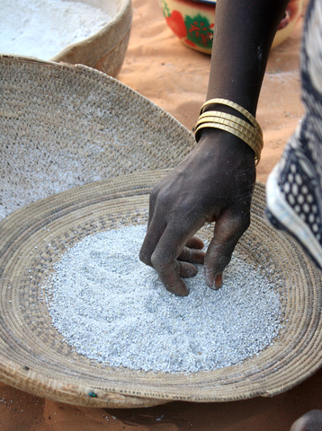 Millet in the Diffa region is scarce and extremely expensive after the closure of Niger's border with Nigeria