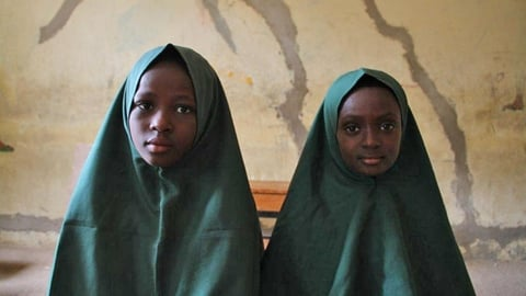 Students at the Future Prowess School, Maiduguri