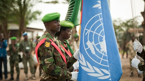 The UN Multidimensional Integrated Stabilization Mission in the Central African Republic (MINUSCA) takes over responsibilities of the African-led International Support Mission to the Central African Republic (MISCA) on 15 September 2014 which comprises up