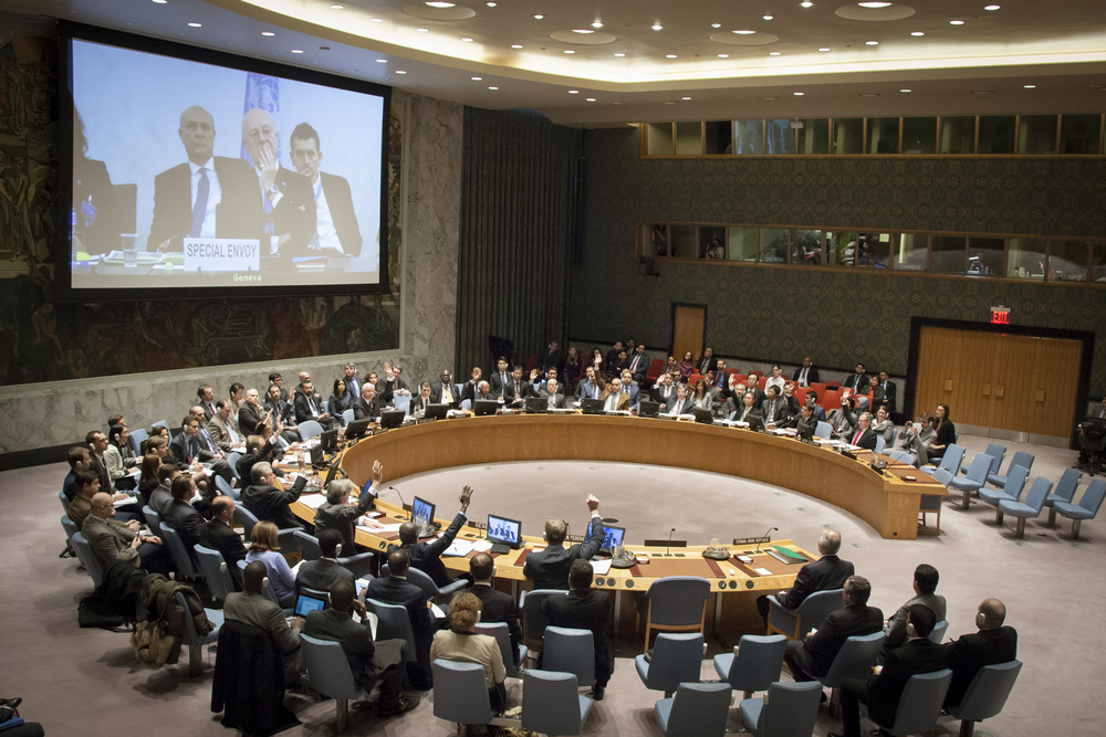 Security Council Endorses Cessation of Hostilities in Syria