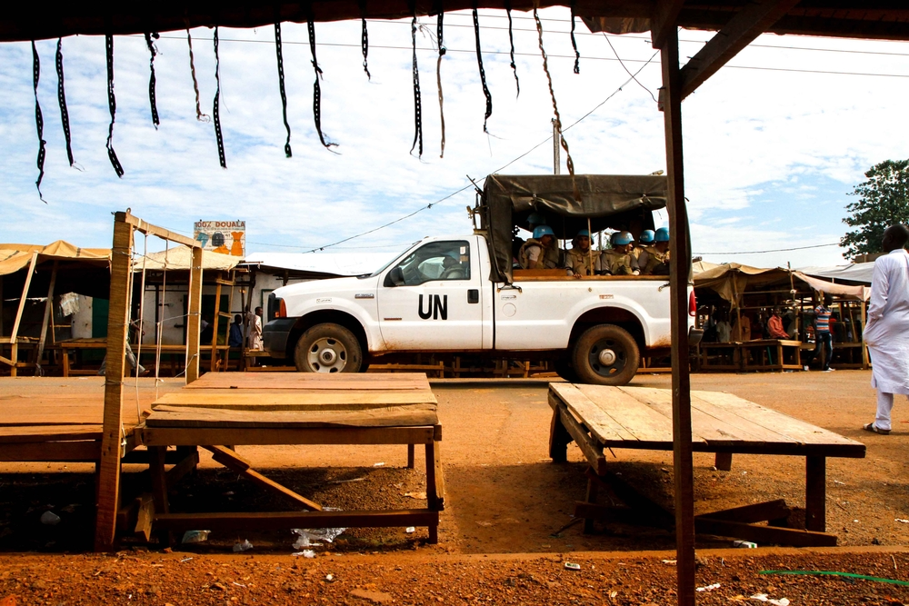 UN peacekeepers in CAR