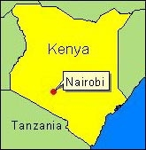 Country Map - Kenya (Nairobi)