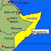 Country Map - Somalia (Mogadishu)
