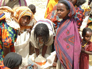 [Ethiopia] Blended food distribution.