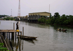 [Nigeria] The Niger Delta region is Nigeria's oil producing region.