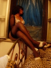 [Nigeria] Far from home and no way to get back. This Nigerian woman thought she was escaping to Europe for a better life; instead she found herself forced into prostitution. [Date picture taken: 09/29/2005]