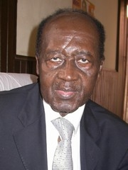 [Central African Republic (CAR)] Abel Goumba, CAR Vice-President. Date: February 2005.