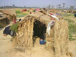 [Nepal] More than 1,000 kamaiya families live in absolute poverty at the Liberated Kamaiya Camp in Kalika village, near the Bardiya highway, about 570 km far west of Kathmandu. This is just one small example of how the rest of over 100,000 kamaiyas are in