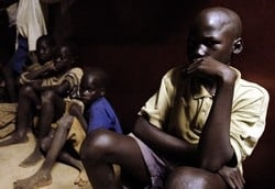 [Uganda] Former abductees at the Kichwa Rehabilitation Centre in Kitgum.