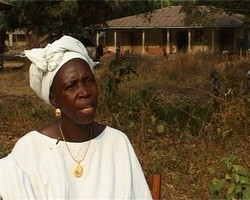 [Sierra Leone] FGM is usually carried out by elderly people in the community who receives an income from the girls' family members. Here, an excisor in rural Sierra Leone.