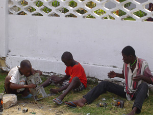 [RoC] Street children in Brazzaville, capital of RoC.
