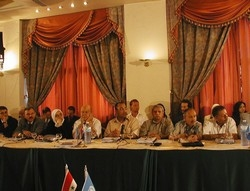 [Syria] The new report on poverty in Syria was launched in Damascus.