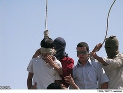[Iran] The two teenagers were executed on 19 July.