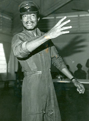 [Ghana] Jerry Rawlings, former president of Ghana, accused of human rights violations. [Date picture taken: 1979]