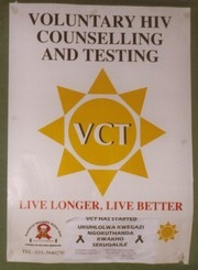 [South Africa] Voluntary HIV counseling and testing – VCT – Live longer, Live better - Poster.