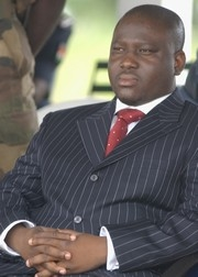 [Cote d'Ivoire] New Forces rebel leader, Guillaume Soro. [Date picture taken: February 2006]