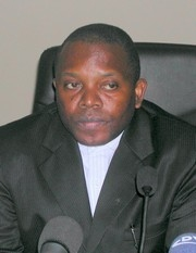 [DRC] Chairman of the Independent Electoral Commission Apollinaire Muholongo Malumalu.
