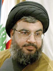 [Lebanon] Sayed Hassan Nasrallah – secretary general of Hizbullah. [Date picture taken: 07/16/2006]