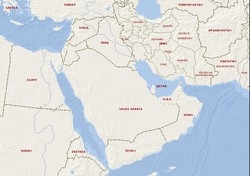 [Middle East] Map.