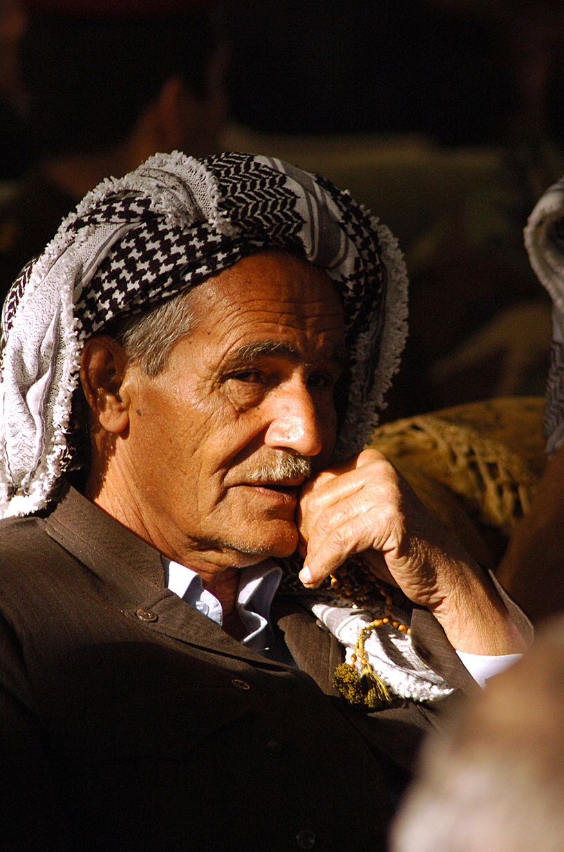 An Iraqi tribal elder ponders his country's future.