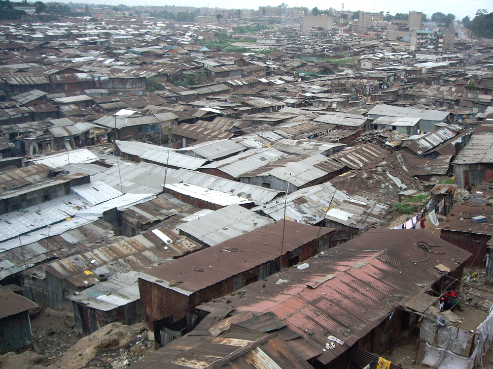 One of Africa's biggest slums, Mathare, Nairobi, Kenya, 26 May 2007.
