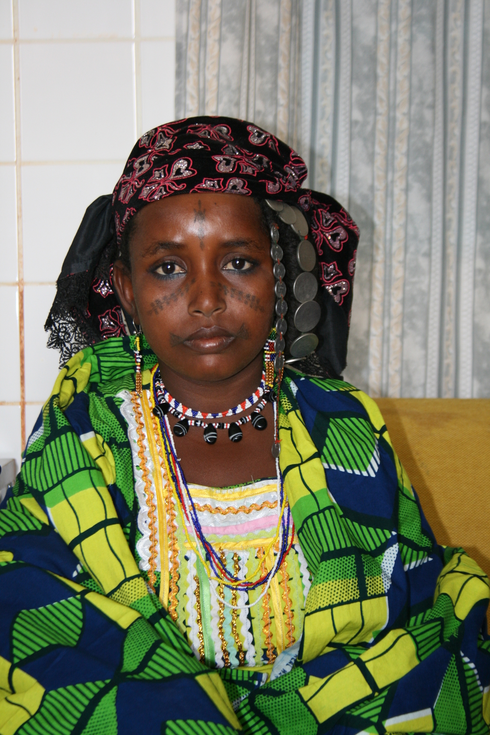Hadjo Garbo, victim of an early marriage in Niger at age 13. She was pregnant by 14 and suffered a fistula after three days in labour and a still-birth.