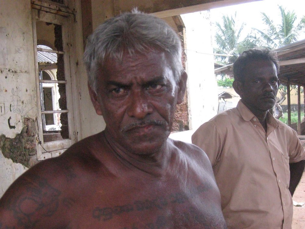 Fisherman M .D. Gunadasa who has lived at the Lunawa camp, near the Sri Lankan capital, Colombo, since the 2004 Asian tsunami destroyed his beachfront home says he has pleaded endlessly with the authorities for a permanent house.